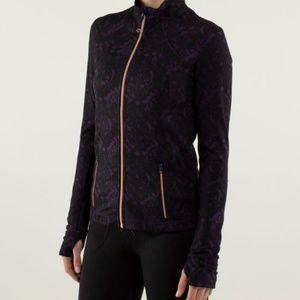 EUC Lululemon Forme Jacket Women Sz 2 Dark Purple